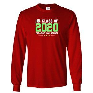 Men's PARADISE HIGH SCHOOL T-Shirt Long Sleeve